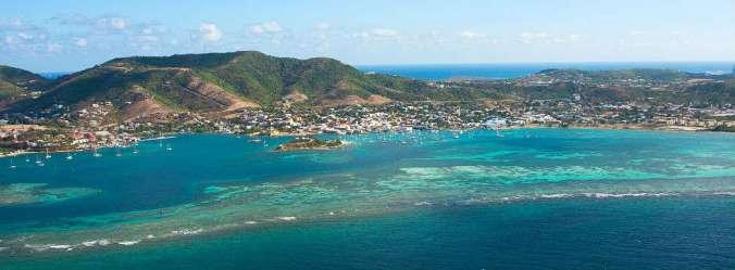 st croix from seaplane