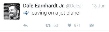 lreaving on jet