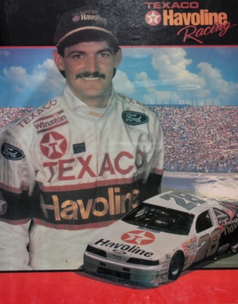 Davey Allison's smile is eternal at the Raceway Grill