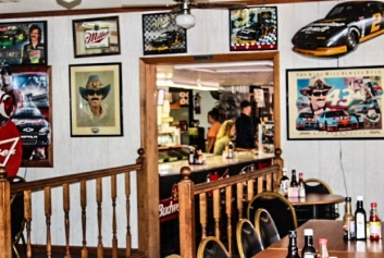 Raceway Grill - dining area 2