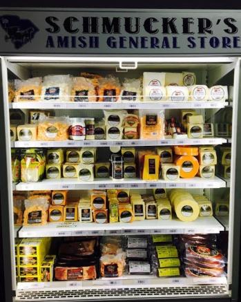 schmucker's amish general store - cheeses