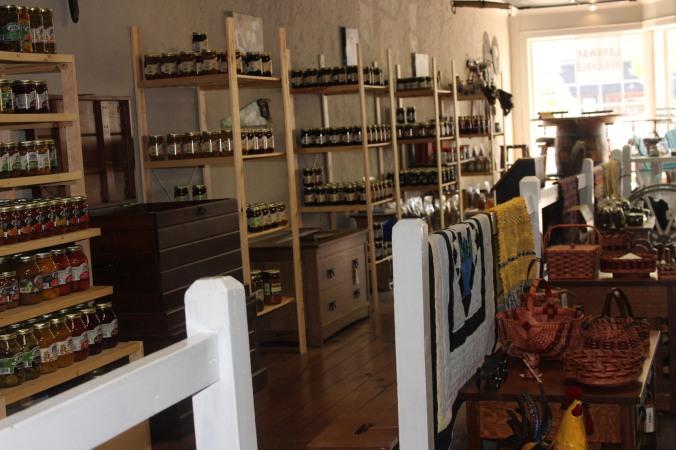 stocked shelves - preserves II