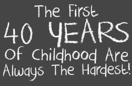 first 40 years a