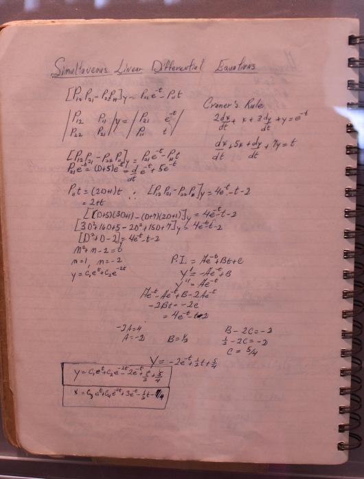 REM school science notebook