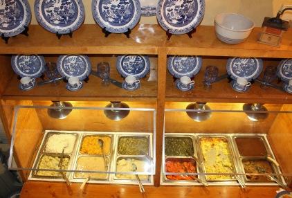 buffet vegetables