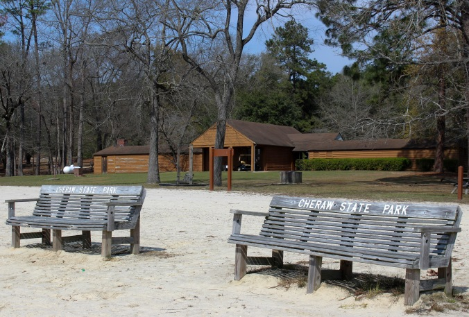 office - beach benches